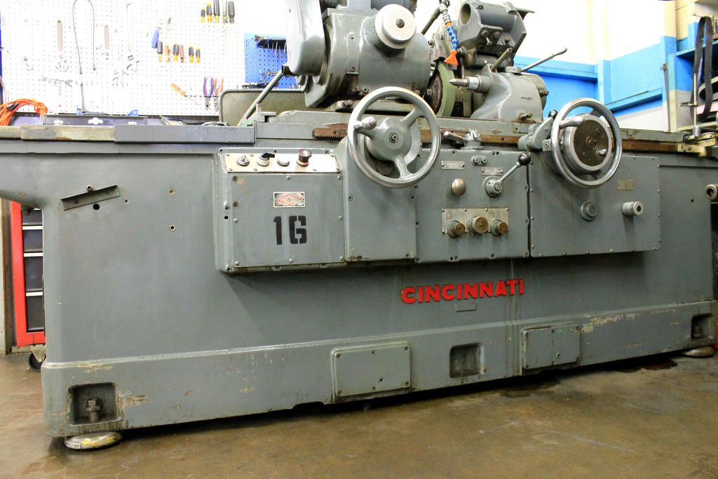 Raymac Grinding has cincinnati precision machines.